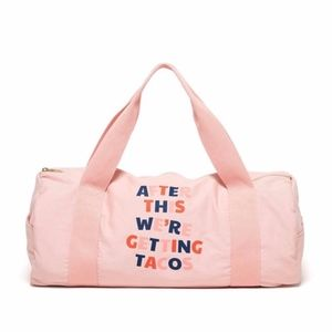 Work It Out Gym Bag Tacos